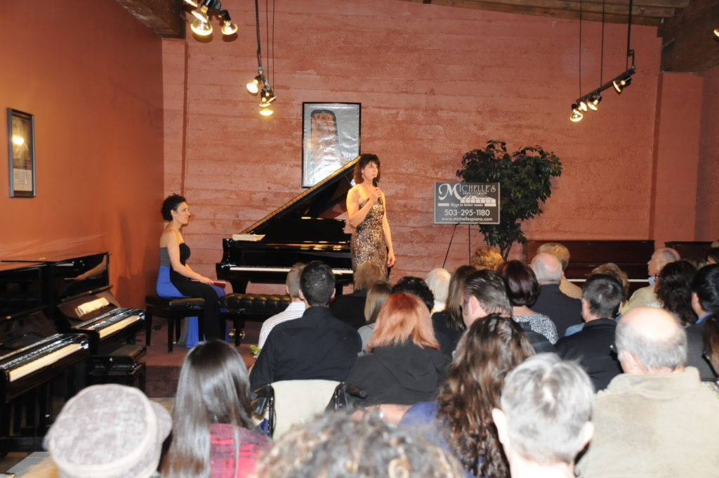 Linda Barker In Concert Michelles Piano In Portland Or