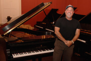Billy Joel with Steinway Piano