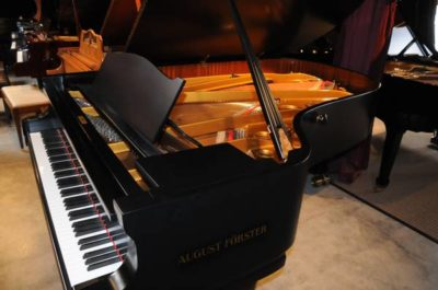 Semi Concert Grand August Forster Piano Model 215 at Michelles Piano in Portland, OR - Pre-Owned