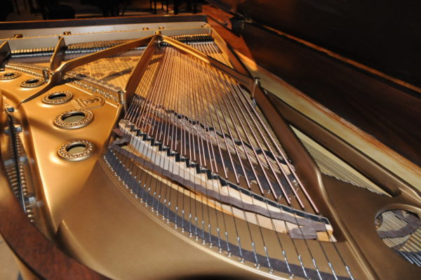 Steinway B Grand Piano with African Pommele Finish in Portland OR at Michelles Piano