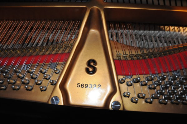 Steinway S Baby Grand Piano Serial 569322 - Pic 6