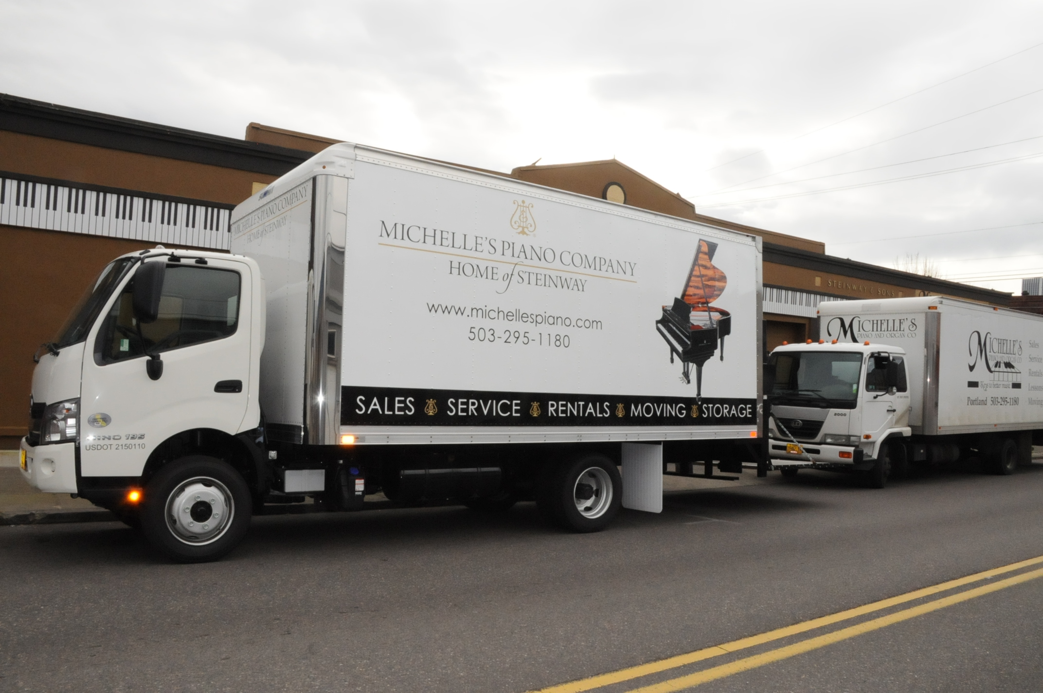 Piano Moving Truck in Portland OR from Michelles Piano - pic 5