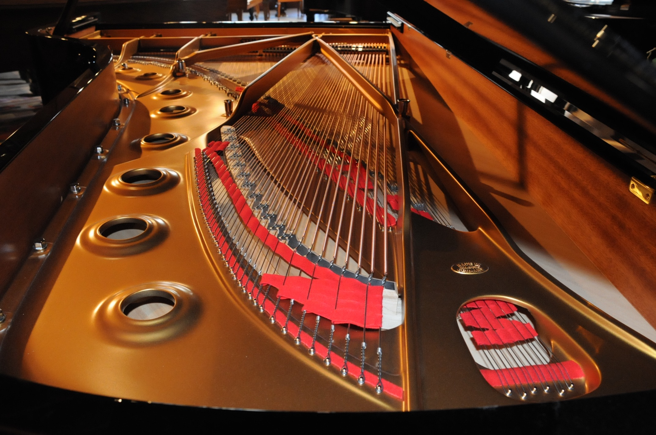 Steinway New York Model D Concert Grand Piano Michelles