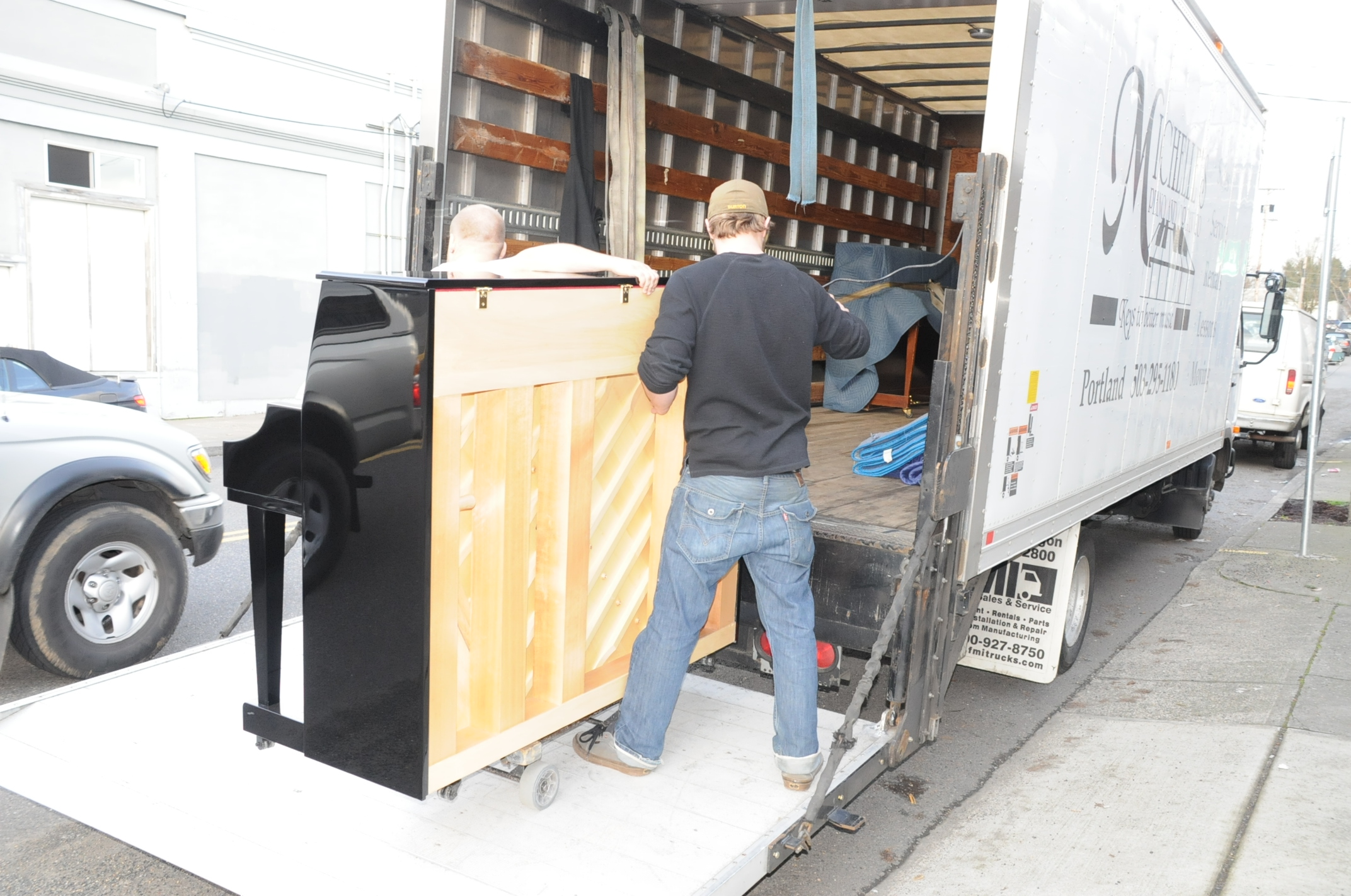 Piano Moving in Portland OR from Michelles Piano - pic 2