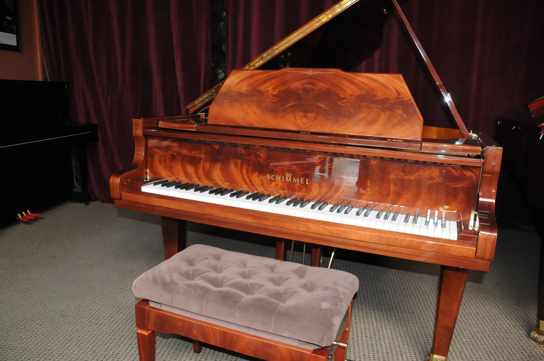 Schimmel 213 grand piano michelles piano in portland or for Royal pianos