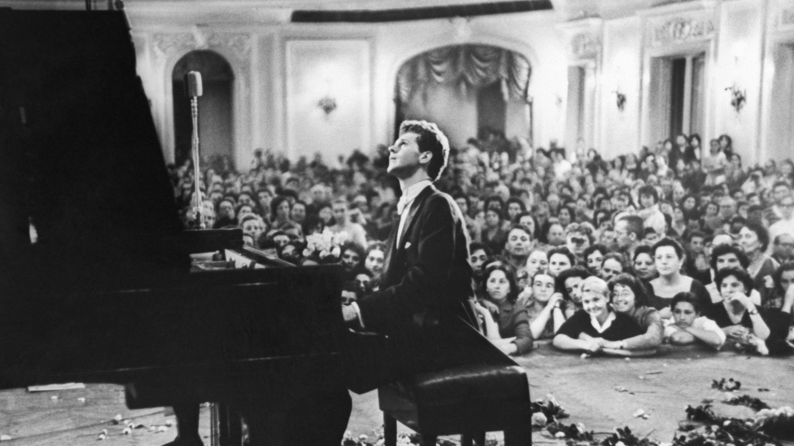 Van Cliburn Steinway And Sons Piano Artist Available in Spirio Library