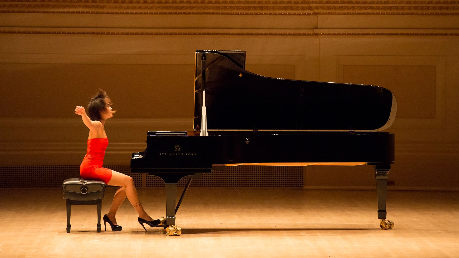 Yuja Wang Steinway And Sons Piano Artist Available in Spirio Library