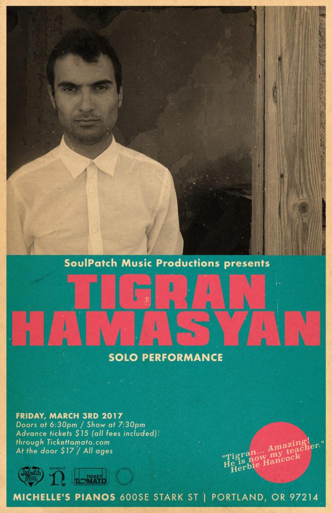 Tigran Hamasyan Solo Performance