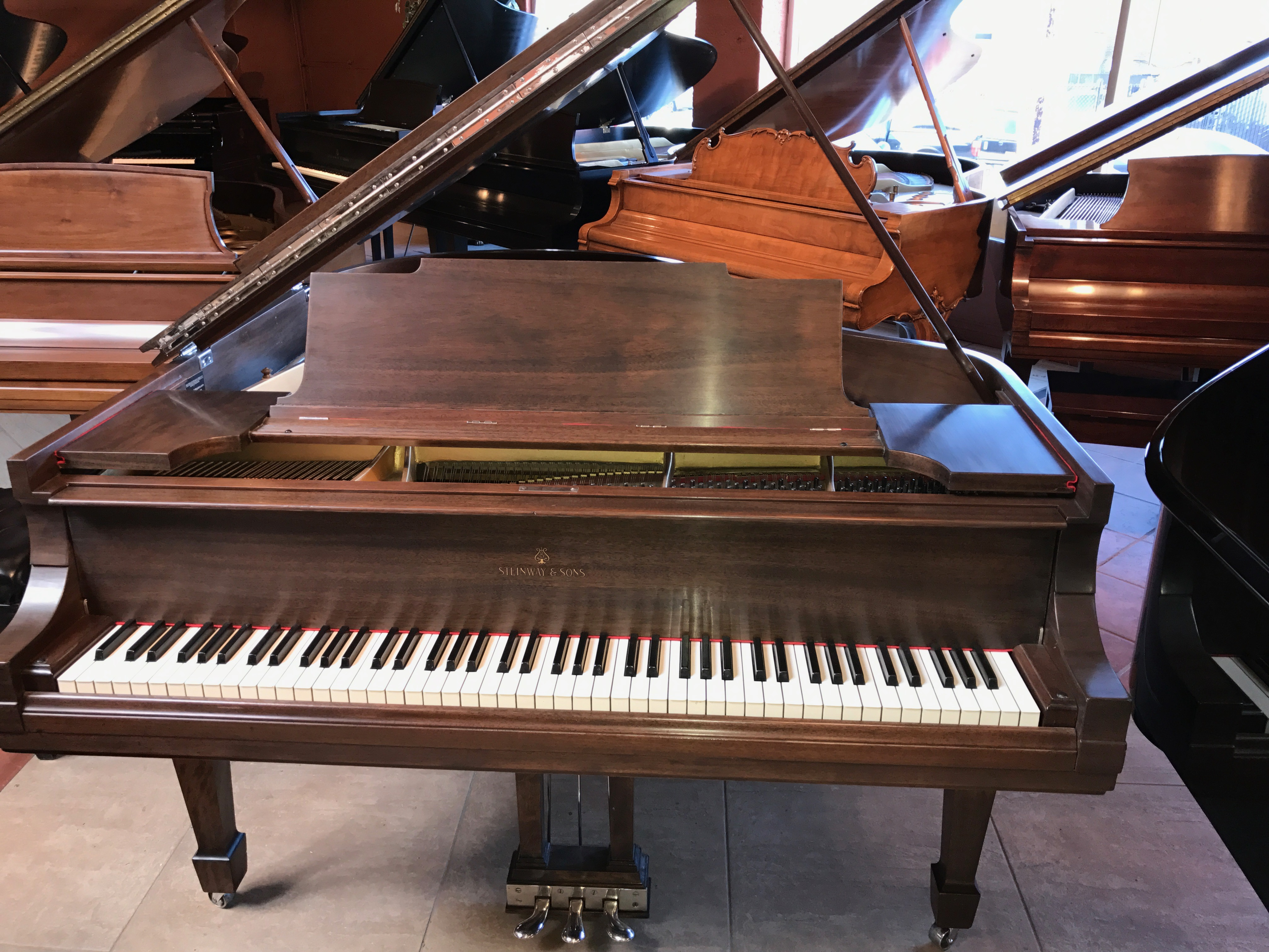 Steinway Amp Sons M Grand Piano Michelles Piano In Portland Or