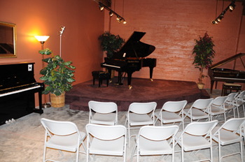 Recital and Event Space at Michelles Piano in Portland OR
