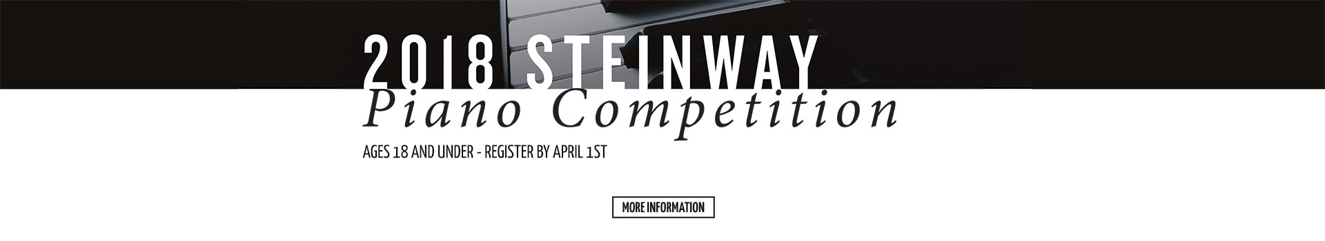 2018 Steinway Piano Competition