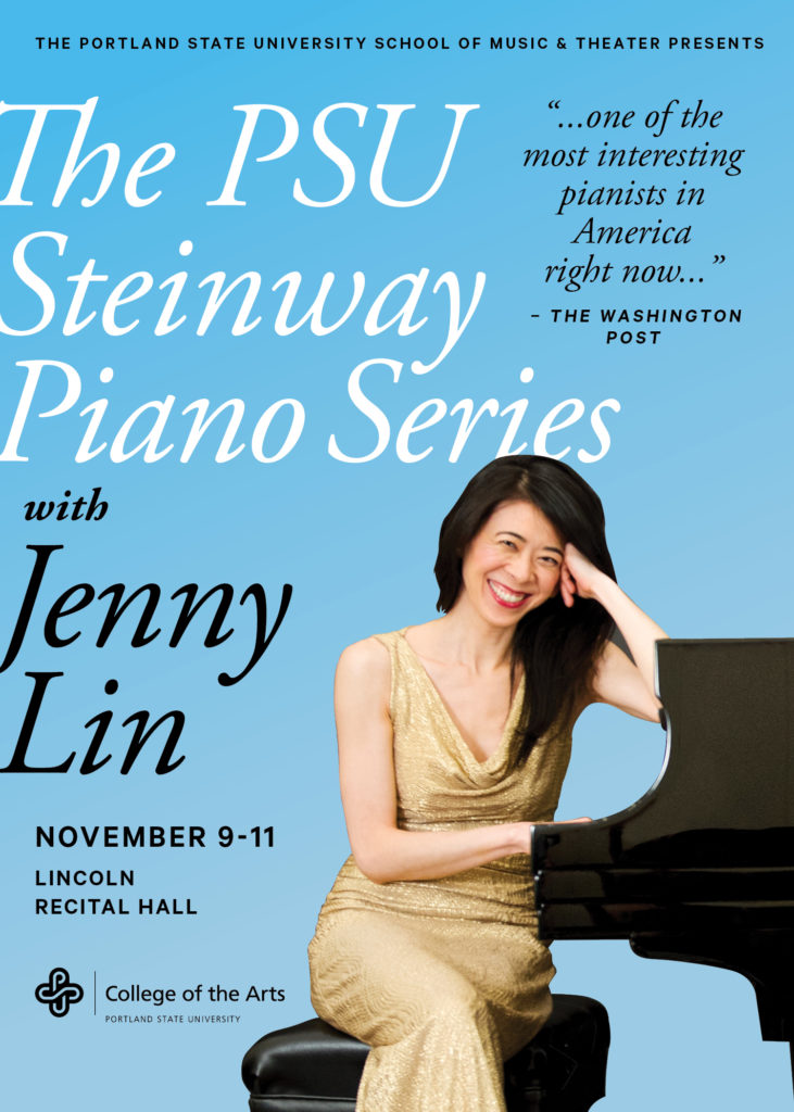 Jenny Lin at Lincoln Recital Hall