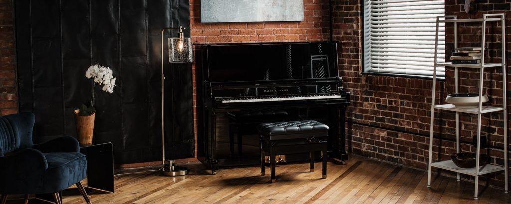 Mason and Hamlin Upright Pianos at Michelles Piano in Portland, OR