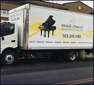 Portland Piano Moving from Michelles Piano in Portland OR